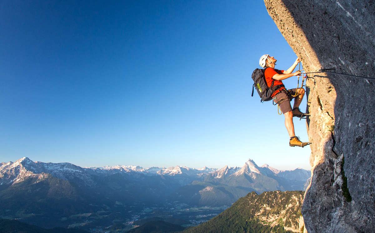 Klettersteigset Verleih Berchtesgaden : Klettern im berchtesgadener land