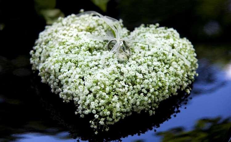 Hochzeit Blumenherz