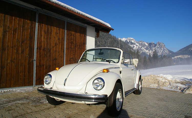 Hochzeitsauto VW Käfer Cabrio