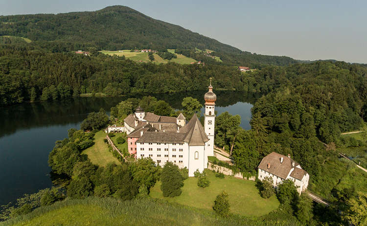 Hoeglwoerth Monastery Lake Bavaria