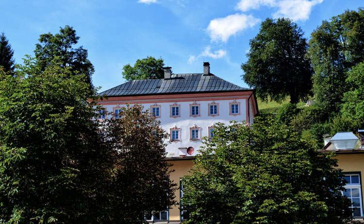 Das Hofrichterhaus, ehemaliges Finanzamt Berchtesgaden
