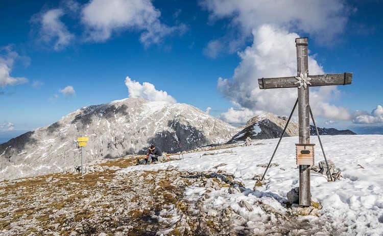 Hohes Brett Gipfelkreuz 1