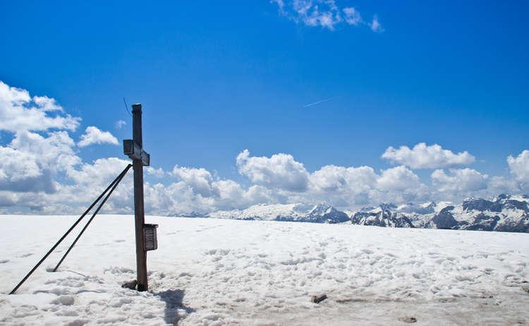 Hohes Brett Gipfelkreuz