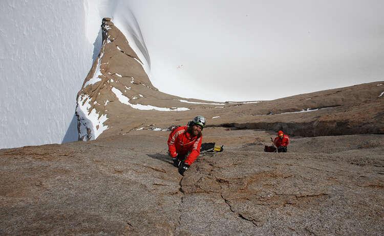 Die Huberbuam in der Antarktis