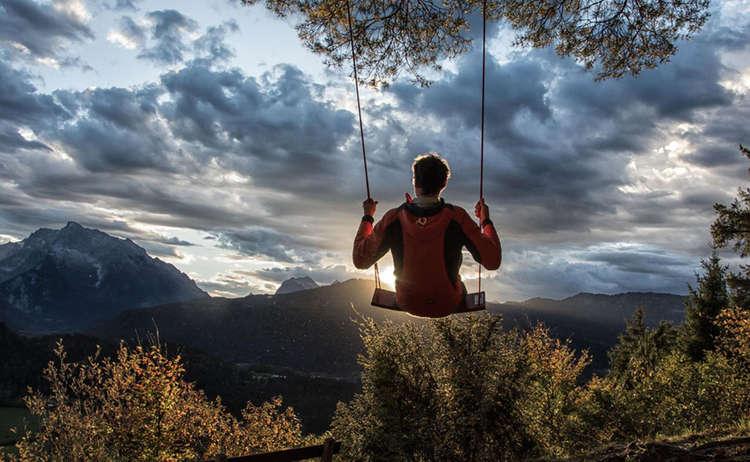 Hutschn Schakel Abend Berchtesgaden