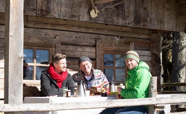 Das Hutschn Team: Matthias Bunsen, Andreas Bunsen und Andreas Baumann