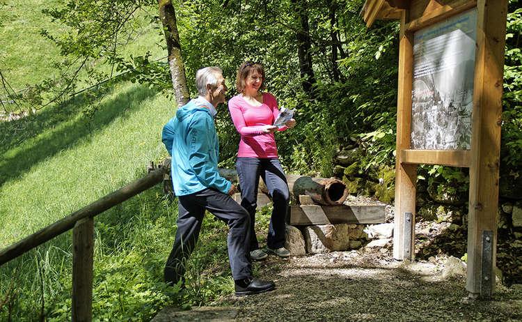 Infotafel Soleleitungsweg Berchtesgaden