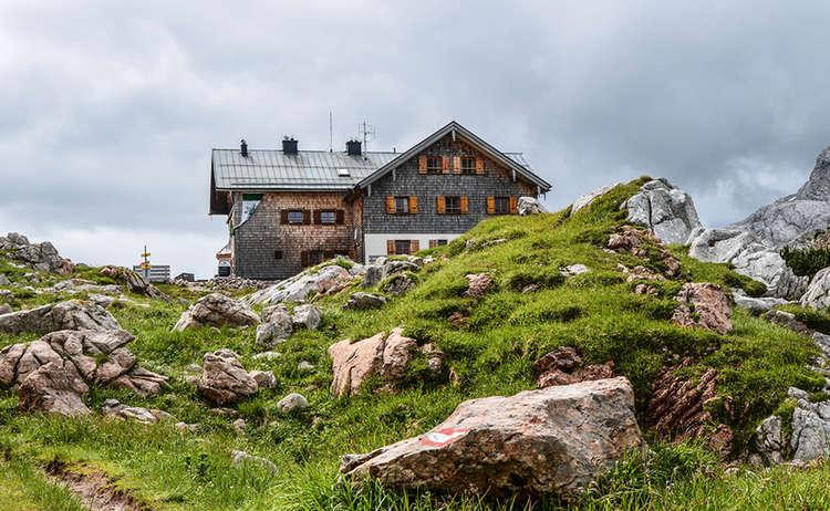 Ingolstaedter Haus Steinernes Meer 2