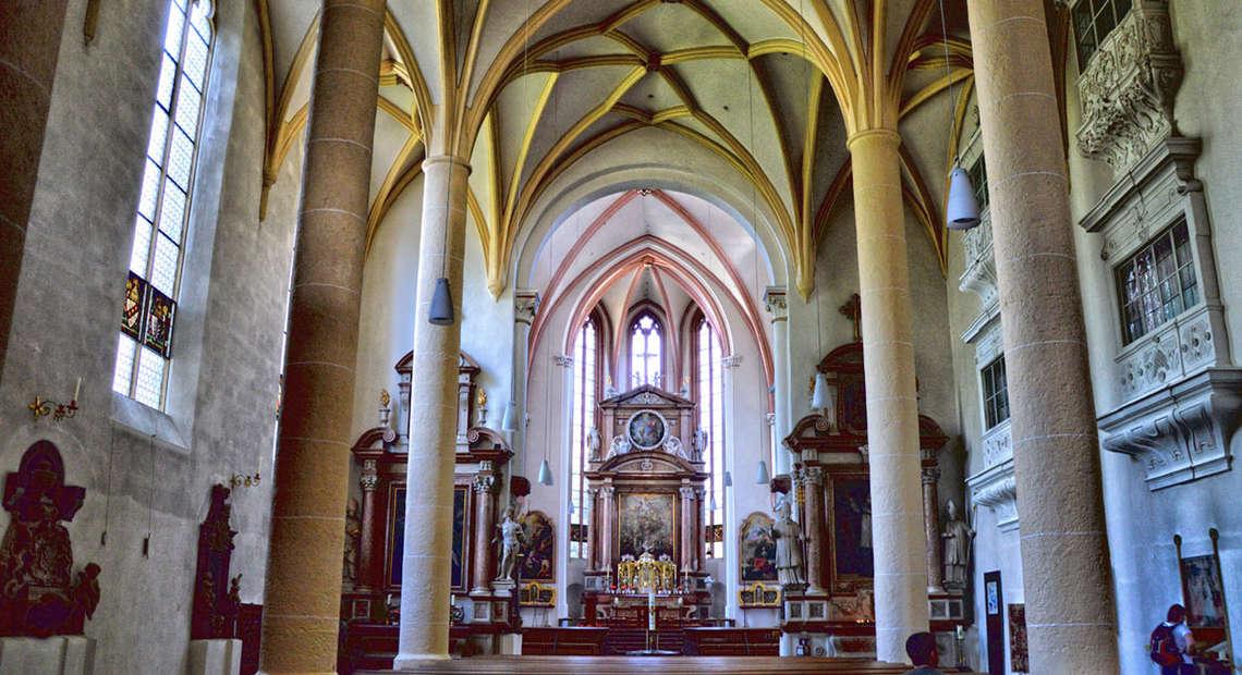 Innenraum Der Stiftskirche Berchtesgaden