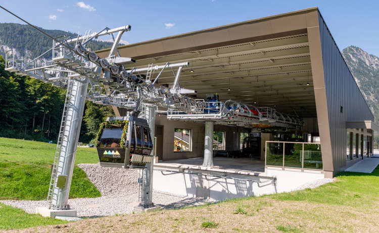 Jennerbahn Cable Car Berchtesgaden