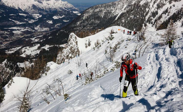 Jennerstier Skitourenrennen Marc Kost