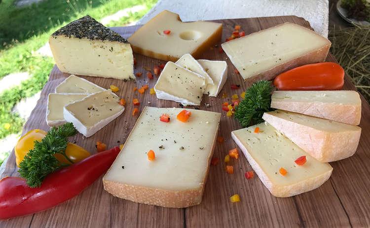 Käse vom Erlebnisbauernhof Bernegglehen