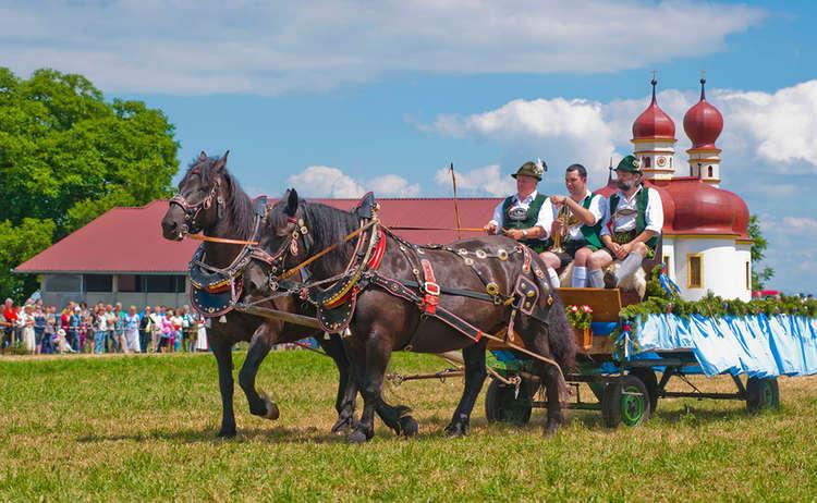 Kaltblut Pferd Fest Holzhausen St Bartholomae C Roha