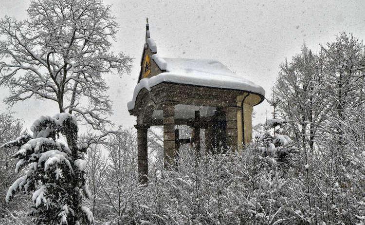 Die Kalvarienbergkapelle Berchtesgaden