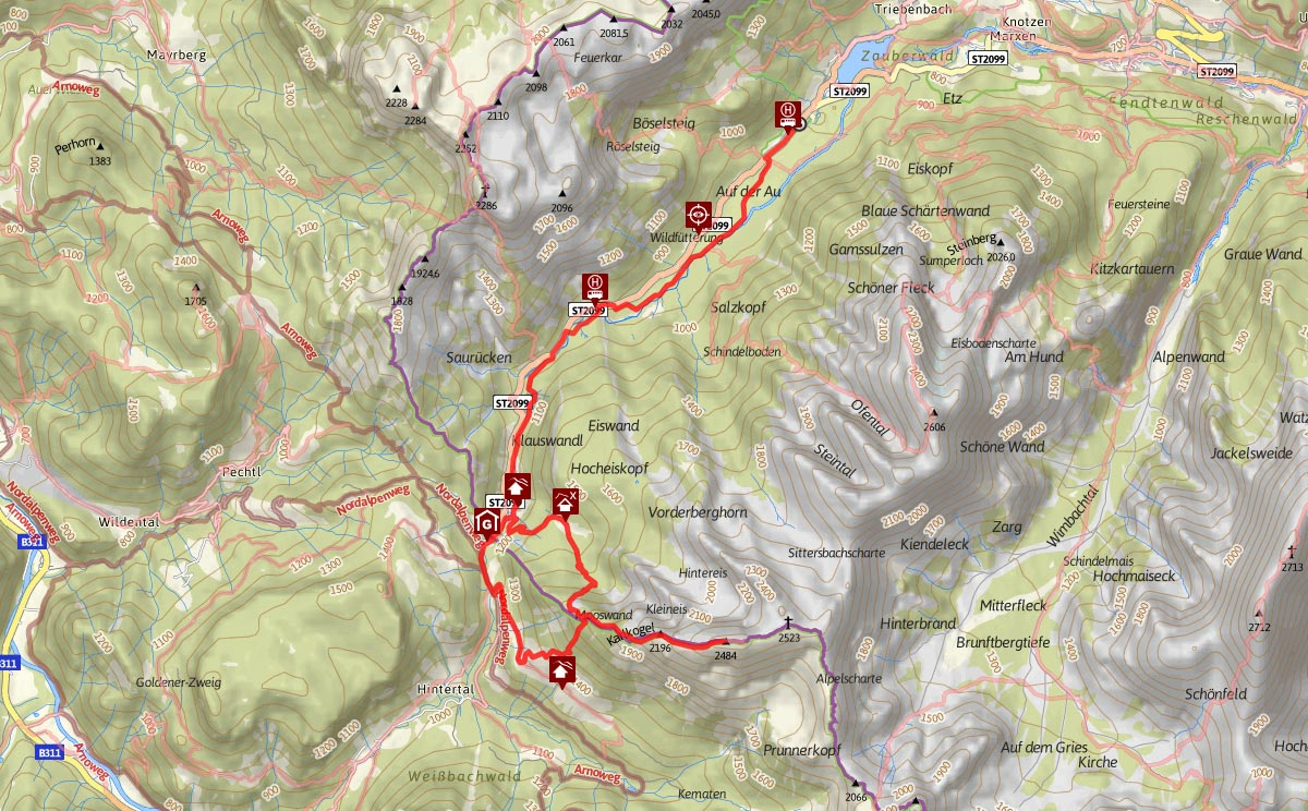 Kammerlinghorn Bergtour