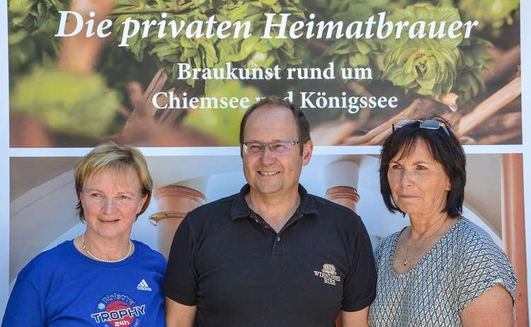 Karin Mergner, BGLT, Hans Unterreiner, Wieninger und Maria Stangassinger, GF BGLT