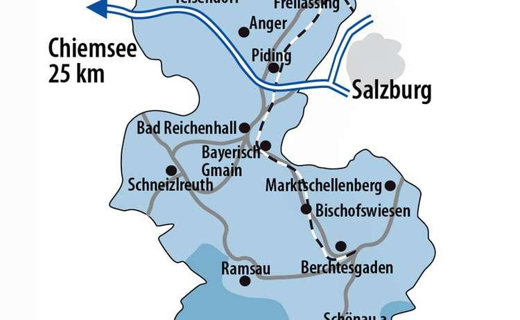 Karte Bgl