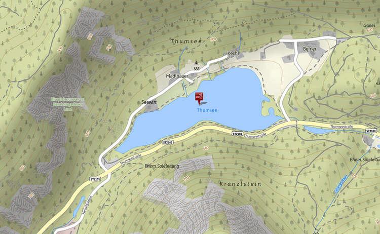Karte Thumsee
