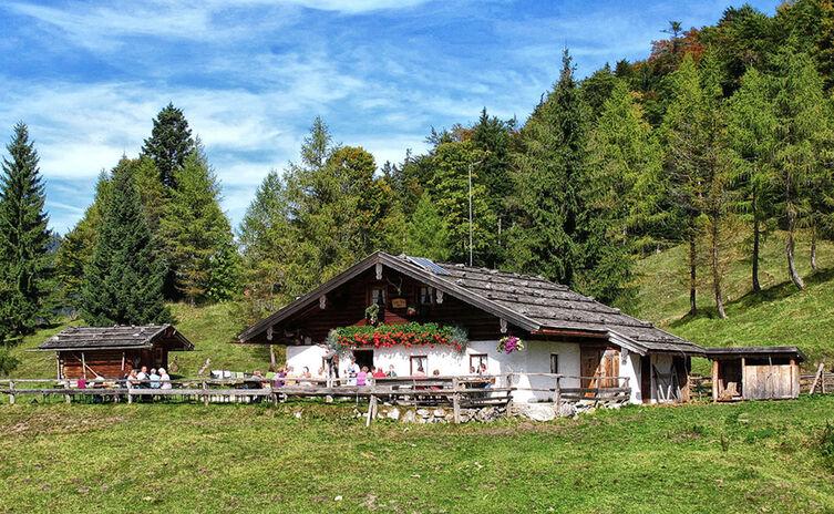 Kaser Reiteralm Chiemgau Mountainbike