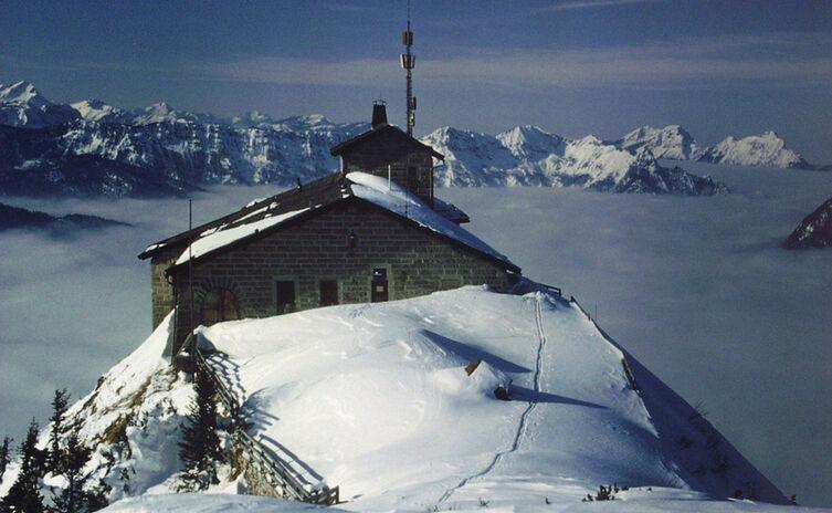 Das Kehlsteinhaus ist im Winter geschlossen