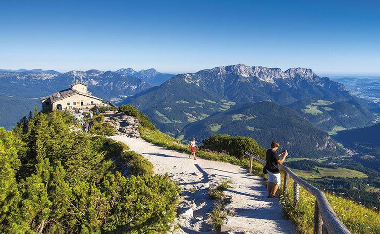 Kehlsteinhaus hoch über Berchtesgaden