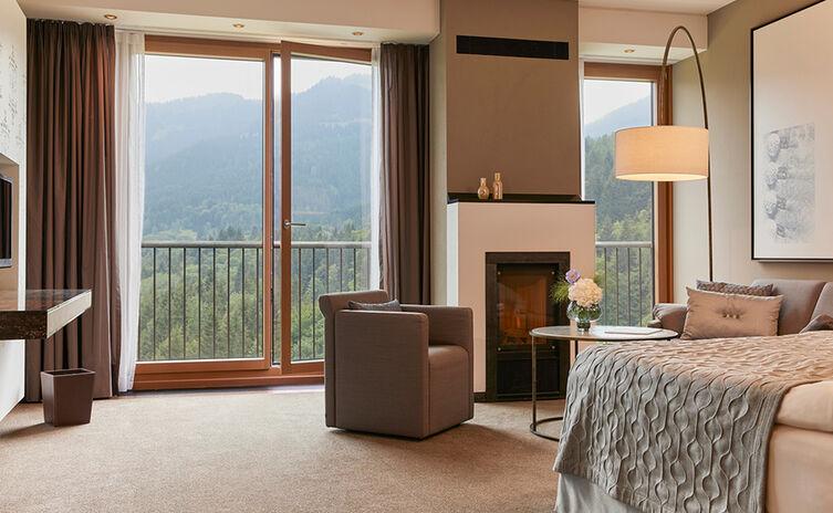Zimmer mit Bergblick   Kempinski Hotel Berchtesgaden