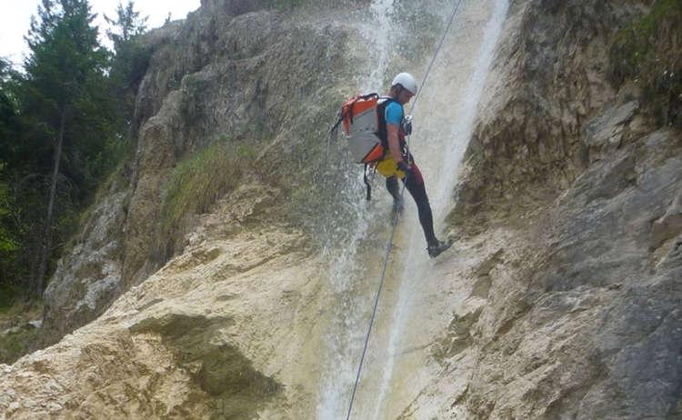 Kesselbach Canyon