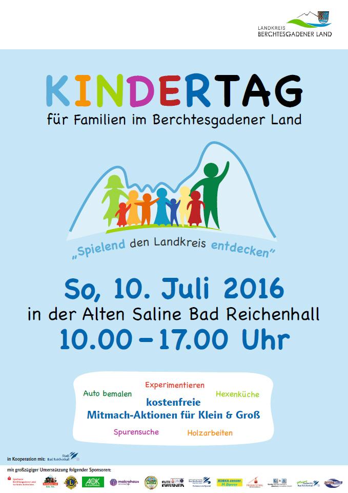 Kindertag für Familien