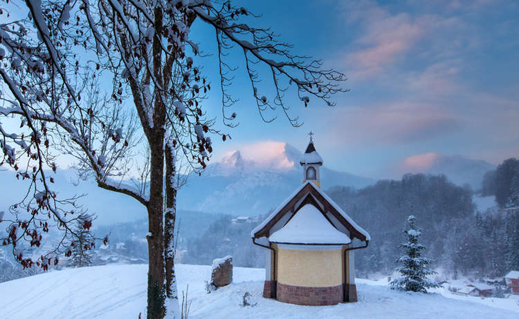 Die Kirchleiten Kapelle in Berchtesgaden