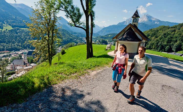 Kirchleitenkkapelle Berchtesgaden Watzmann