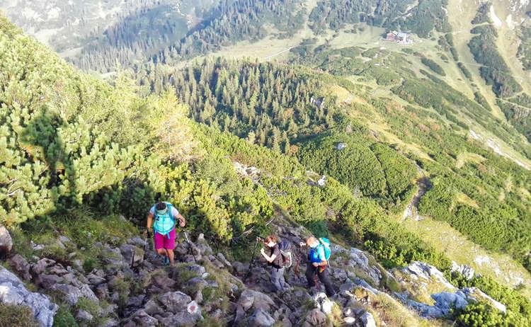 Kleine Reibn: Aufstieg zum Schneibstein