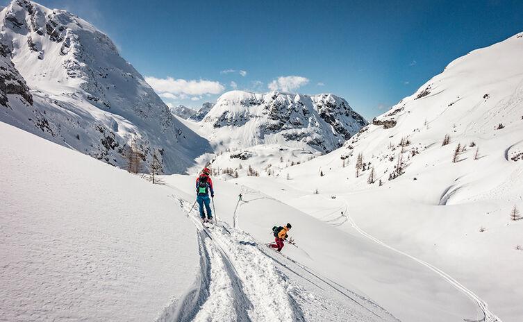Skitour Kleine und Große Reibn