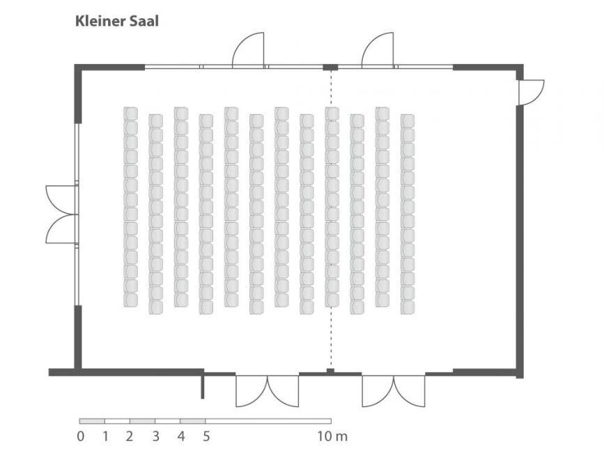 Kleiner Saal (teilbar) Kongresshaus Berchtesgaden
