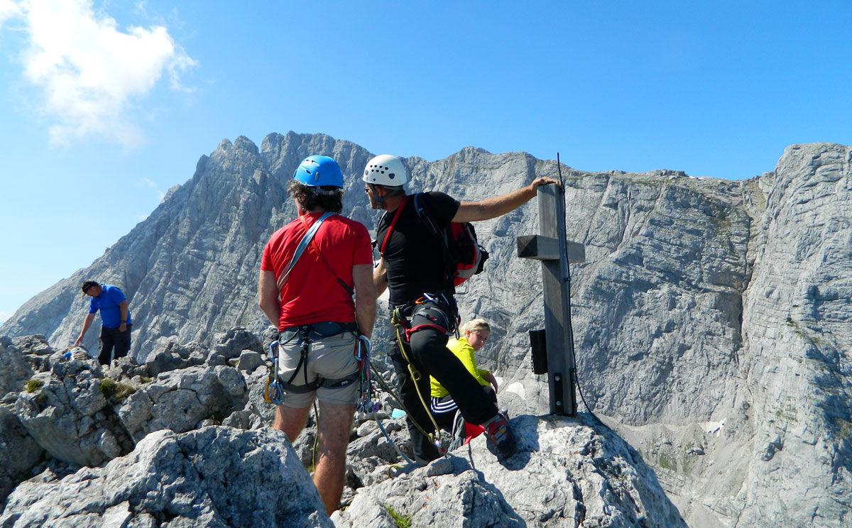 Kletterausrüstung Verleih Berchtesgaden : Klettern im berchtesgadener land