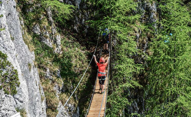 Klettersteig Jenner Haengebruecke