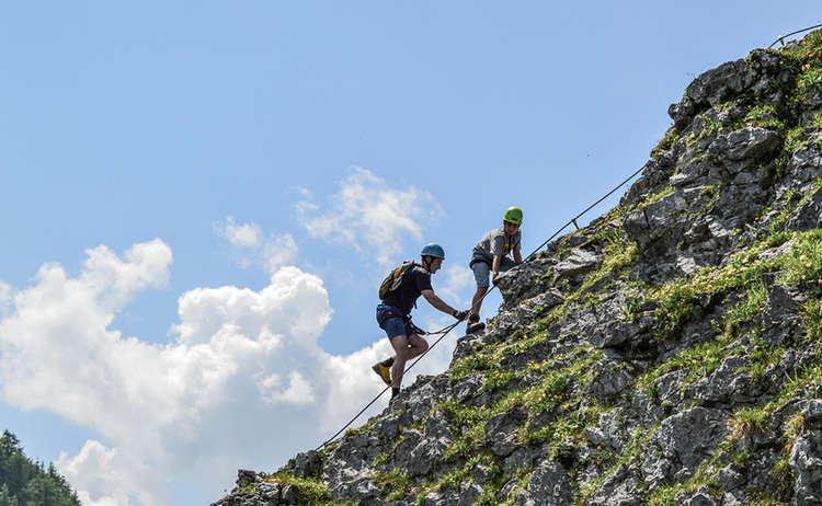Klettersteig Jenner