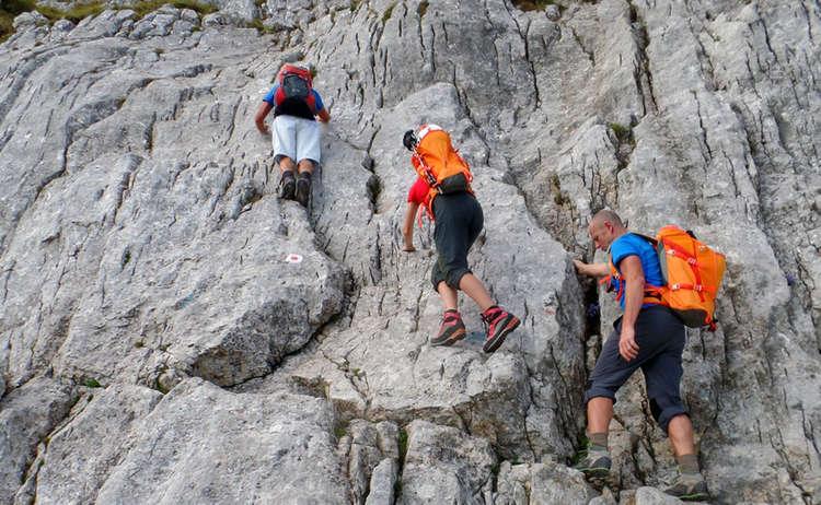 Kletterstelle Hochkalter