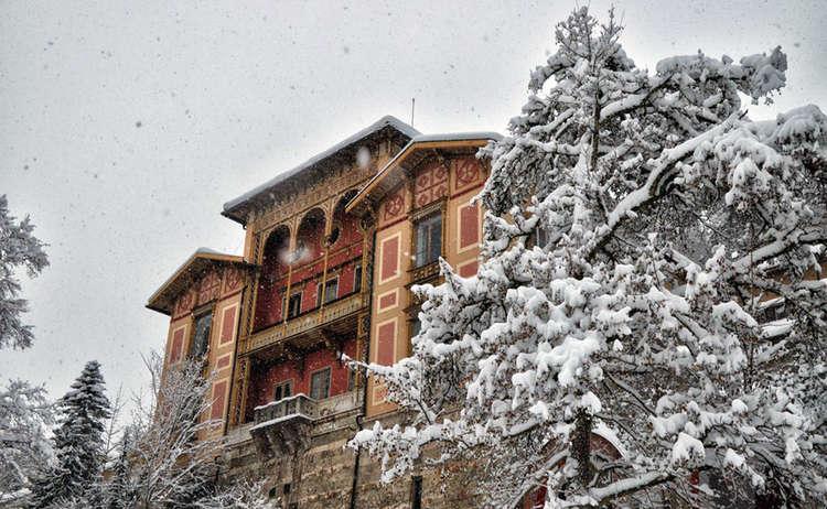 Die Königliche Villa in Berchtesgaden