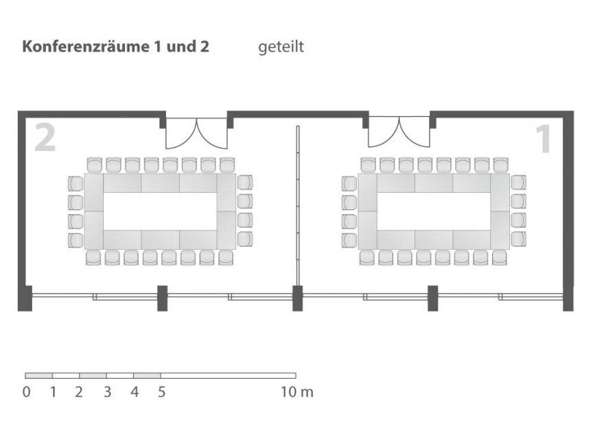 Konferenzraum 1 & 2 Kongresshaus Berchtesgaden