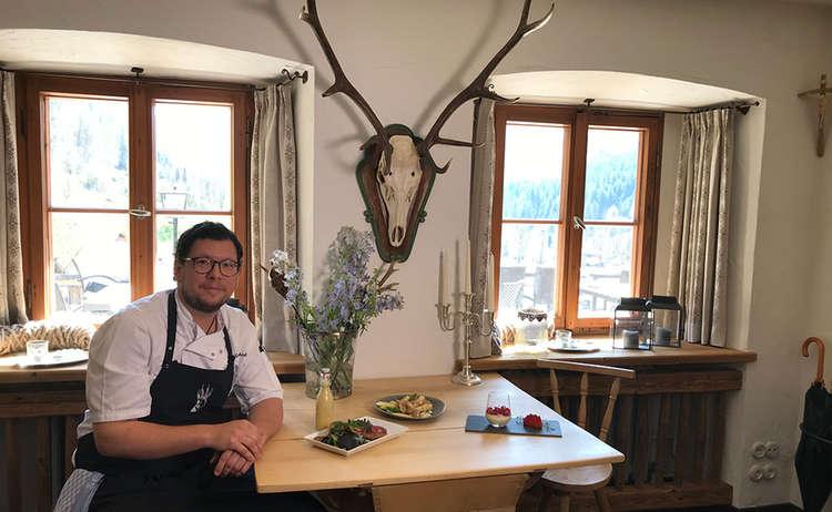 Küchenchef Marco Lauterbach, Berghotel Rehlegg