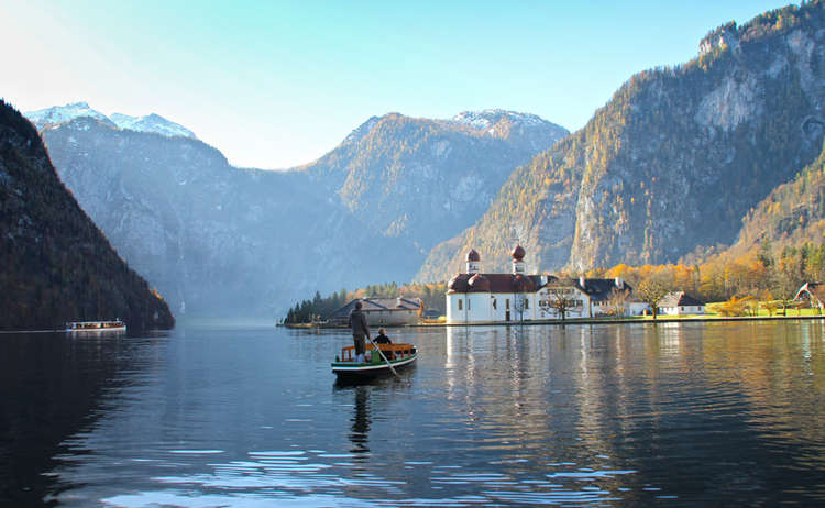 Königssee: Drehort The Sound of Bavaria