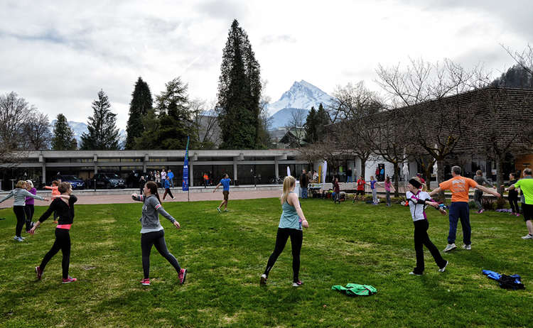 Lederhosentraining Kurgarten Berchtesgaden