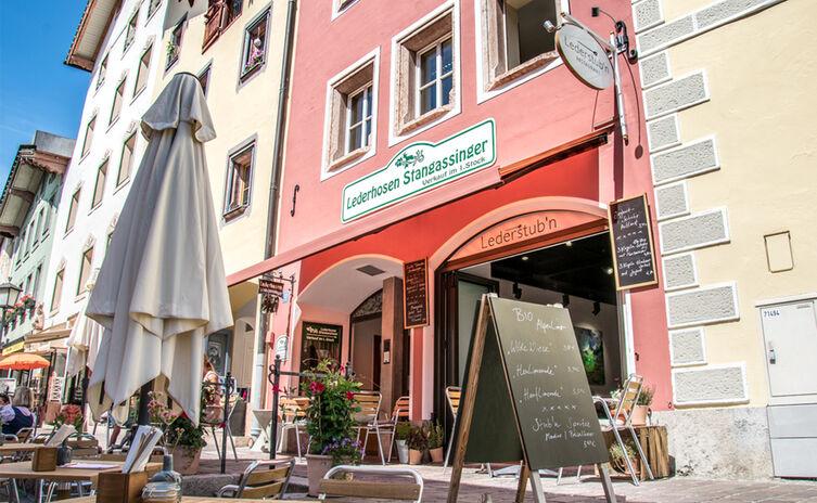 Die Lederstubn: Restaurant im Markt Berchtesgaden