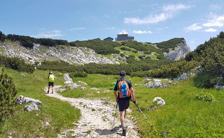 Letzte Meter Zum Stoehrhaus Untersberg Extrem Wander Festival