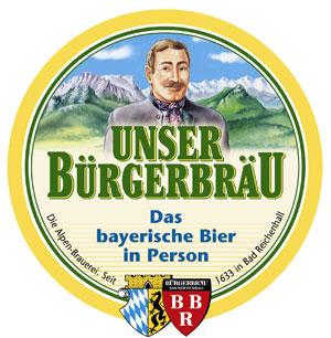 Brauerei Bürgerbräu Reichenhall Logo