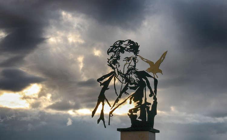 Ludwig Ganghofer Denkmal Kempinski