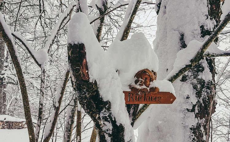 Maerchenpfad Winterwanderung Bischofswiesen