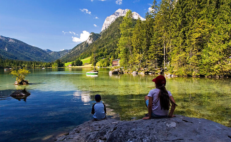 Lake Hintersee | mountaineering village Ramsau