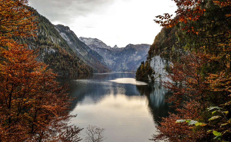 Malerwinkel Koenigssee Herbst