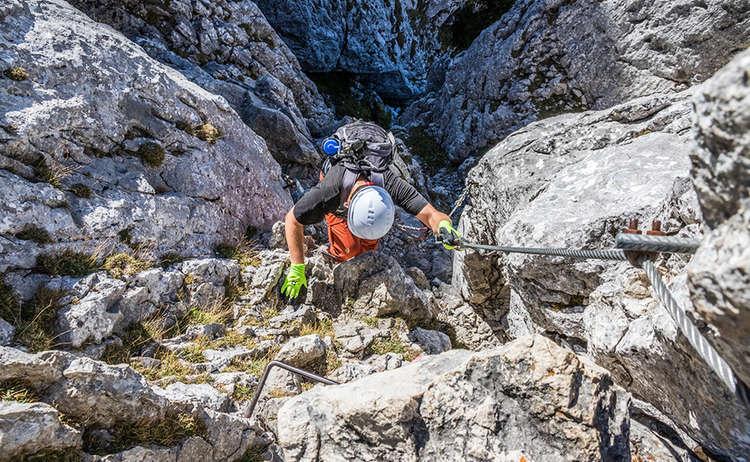 Mandlgrat Klettersteig Kehlstein Hoher Goell